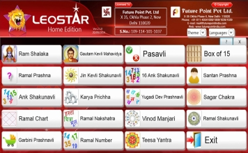 Leostar Home (Best Astrology Software), Leo Horary