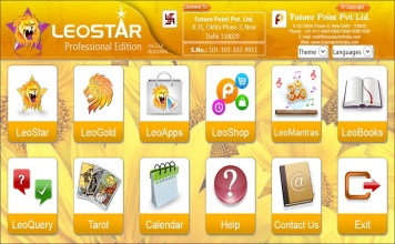 Leostar Professional (Best Astrology Software) | Main Screen