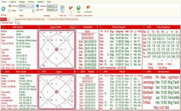 Leostar Professional (Best Astrology Software) | Varshphal