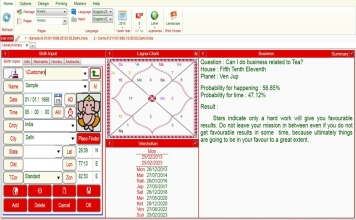 Leostar Professional (Best Astrology Software) | Horary