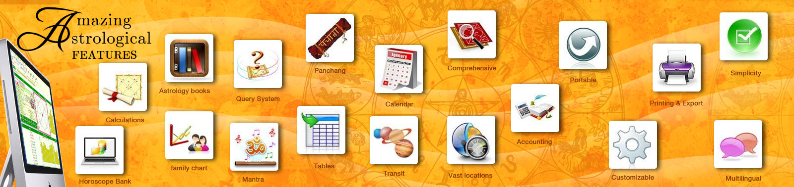 Amazing astrological feature of kundli software leostar
