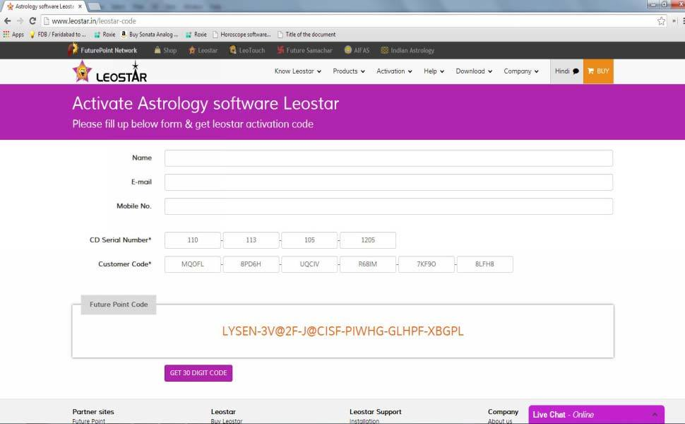 Leostar(Best Horoscope Software), Leostar Installation completed