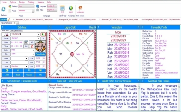 Leostar Home (Best Astrology Software) Teva, Remedies