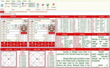 Leostar Professional (Best Astrology Software) | Matching
