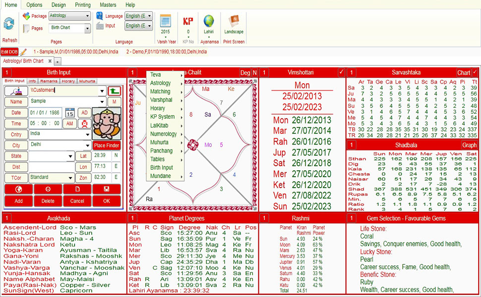 Best Software for Astrology Leostar Plus | Most accurate Astrology