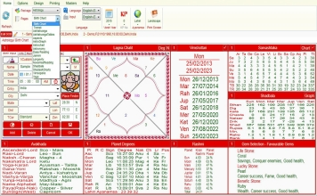 Leostar Professional (Best Astrology Software) | Package Option Level3