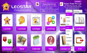 Leostar Professional (Best Astrology Software) | Theme