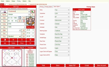 Leostar Professional (Best Astrology Software) | Page Theme