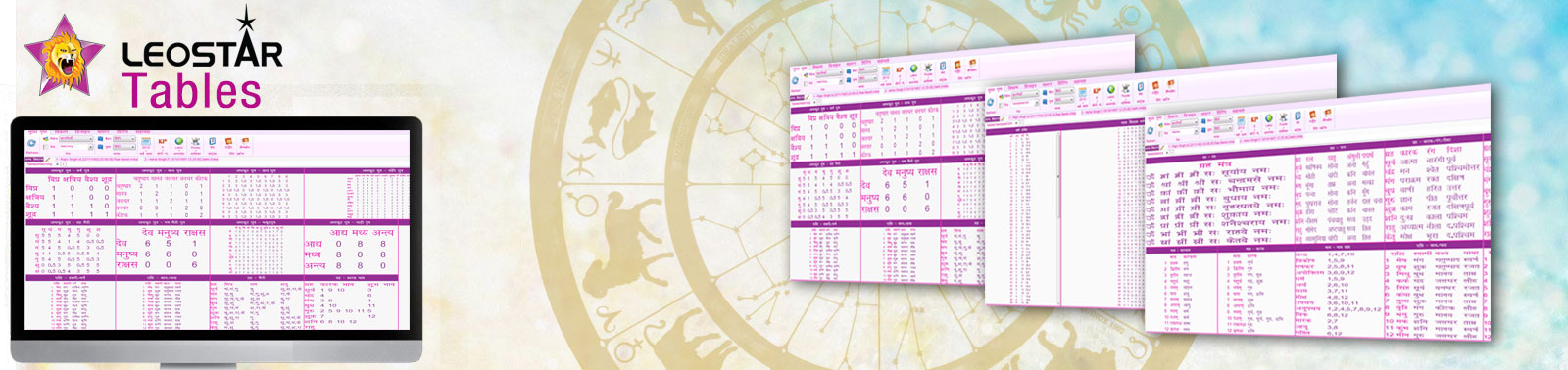 astrology tables software