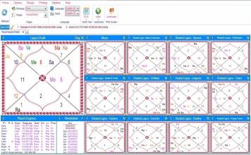 Leostar Home (Best Astrology Software) Teva, House Chart