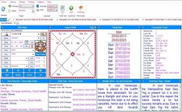 Leostar Home (Best Astrology Software) Teva, Remedies