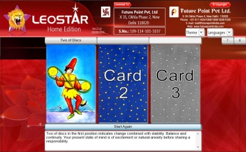 Leostar Home (Best Astrology Software), Tarot