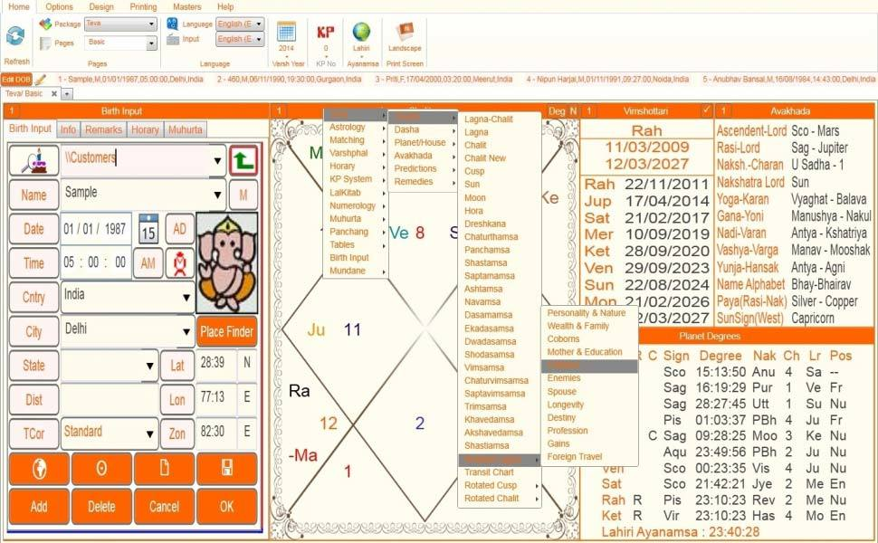Leostar(Kundli Software) Teva, Leostar Remedies