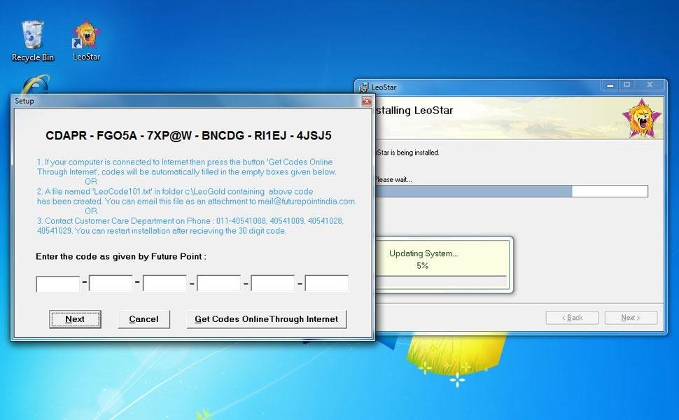 Leostar(Best Horoscope Software), Leostar Key requirement