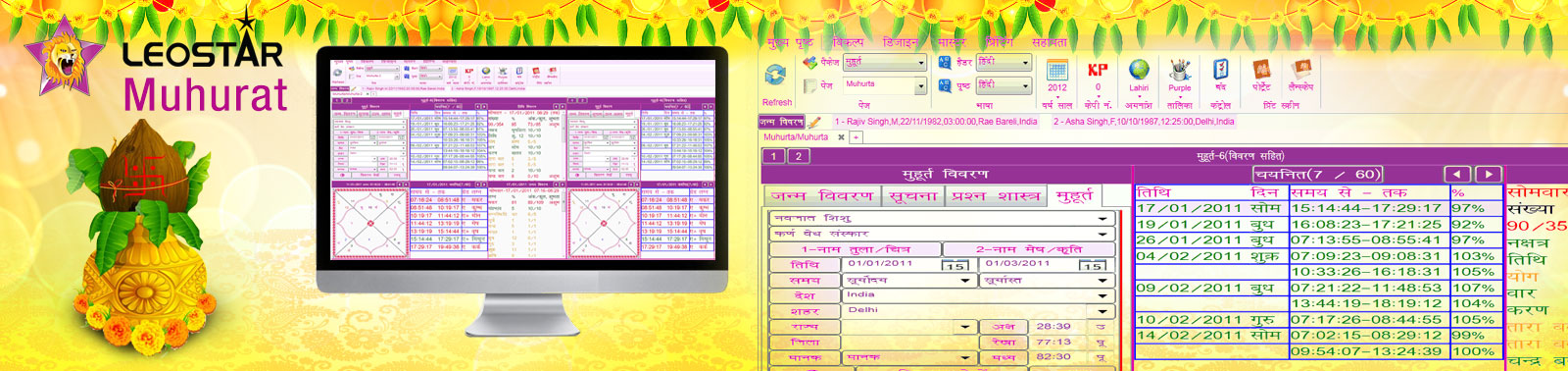 Leostar Muhurat is best software in field of astrology